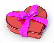Valentine Box of Chocolates 3d model