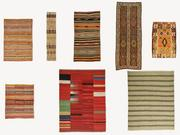 Vintage turkish kilim rugs vol 17 3d model