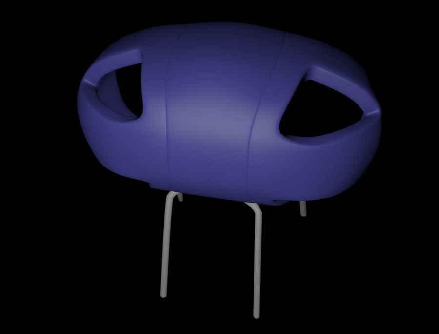 SILLON (1) royalty-free modelo 3d - Preview no. 2