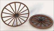 Wagon Wheels 3d model