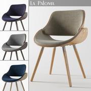 拉帕洛玛扶手椅 3d model