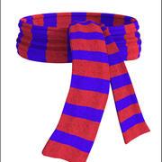 羊毛围巾 3d model