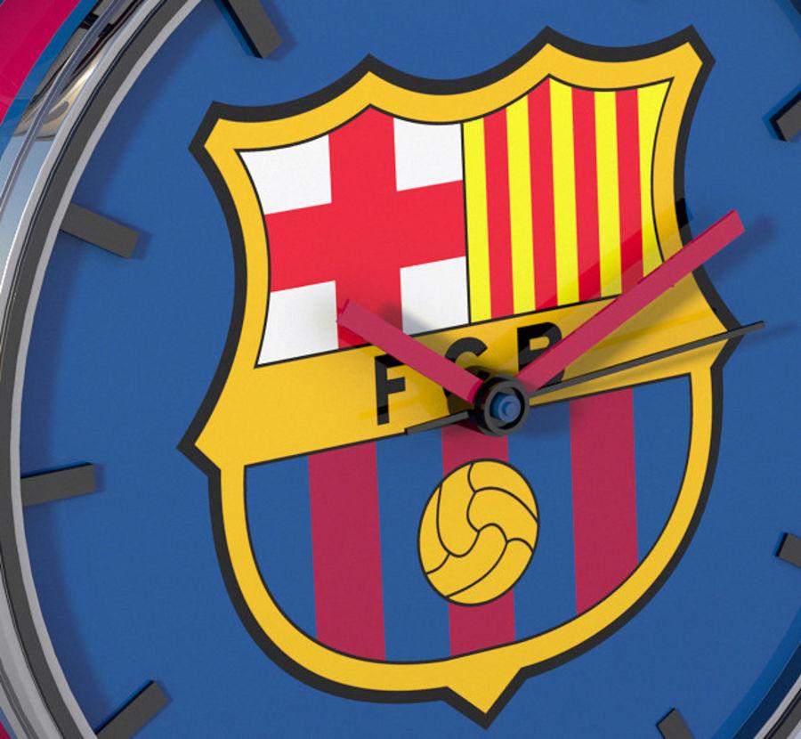 FC Barcelona Alarm Clock royalty-free 3d model - Preview no. 3