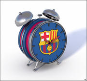 FC Barcelona Alarm Clock 3d model