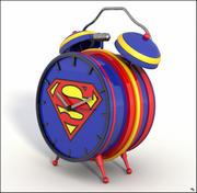Superman Alarm Clock 3d model