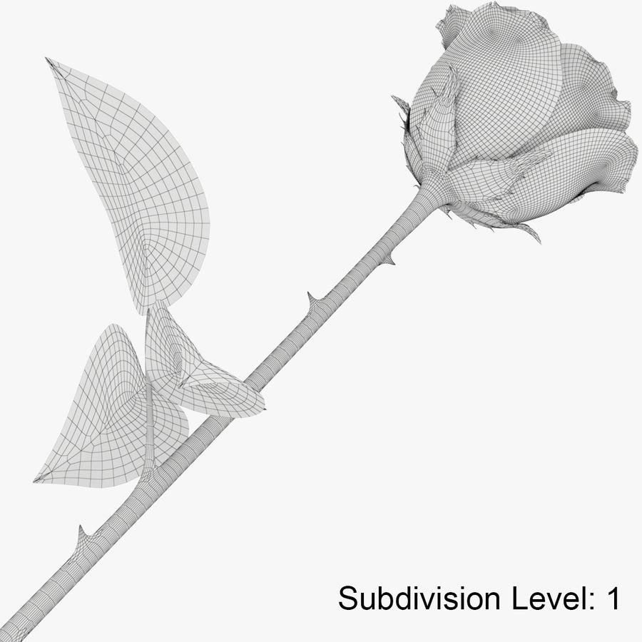 ローズミドルオープン royalty-free 3d model - Preview no. 14
