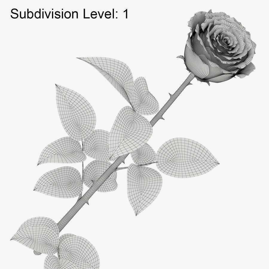 ローズミドルオープン royalty-free 3d model - Preview no. 12