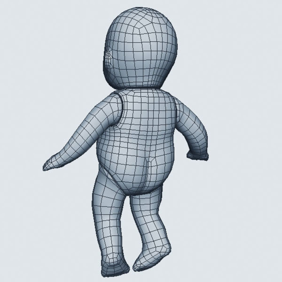 Child Toy royalty-free 3d model - Preview no. 8