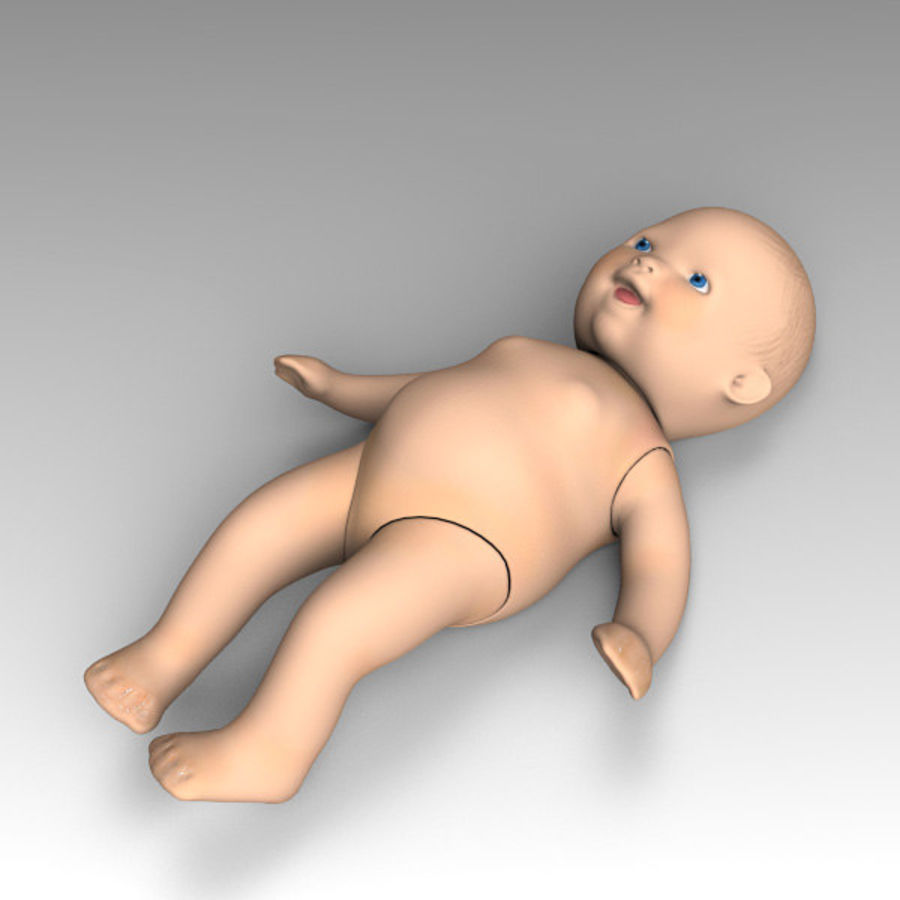 Child Toy royalty-free 3d model - Preview no. 6