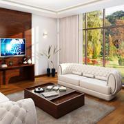 3DInterior_01_Living Room 3d model