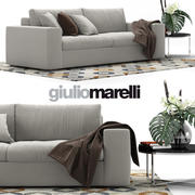 Giulio Marelli Epika 2-x沙发 3d model