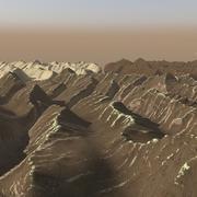 Terrain 10 - Himalayan highland seasons 3d model
