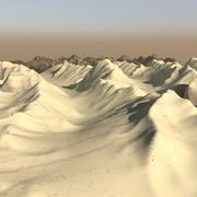 地形10-喜马拉雅高原季节 3d model