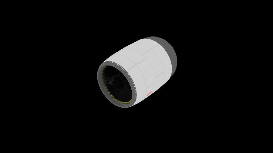 제트 엔진 royalty-free 3d model - Preview no. 2
