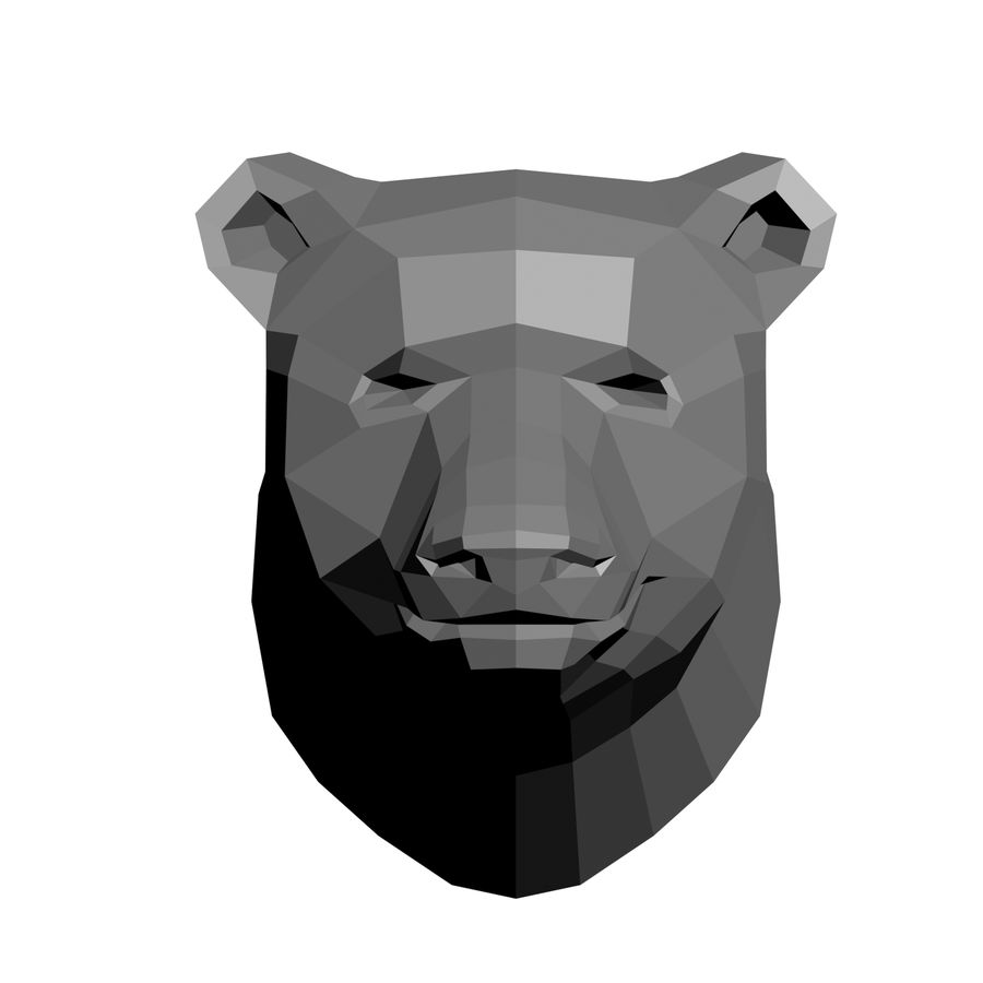 animal models low-poly royalty-free 3d model - Preview no. 5