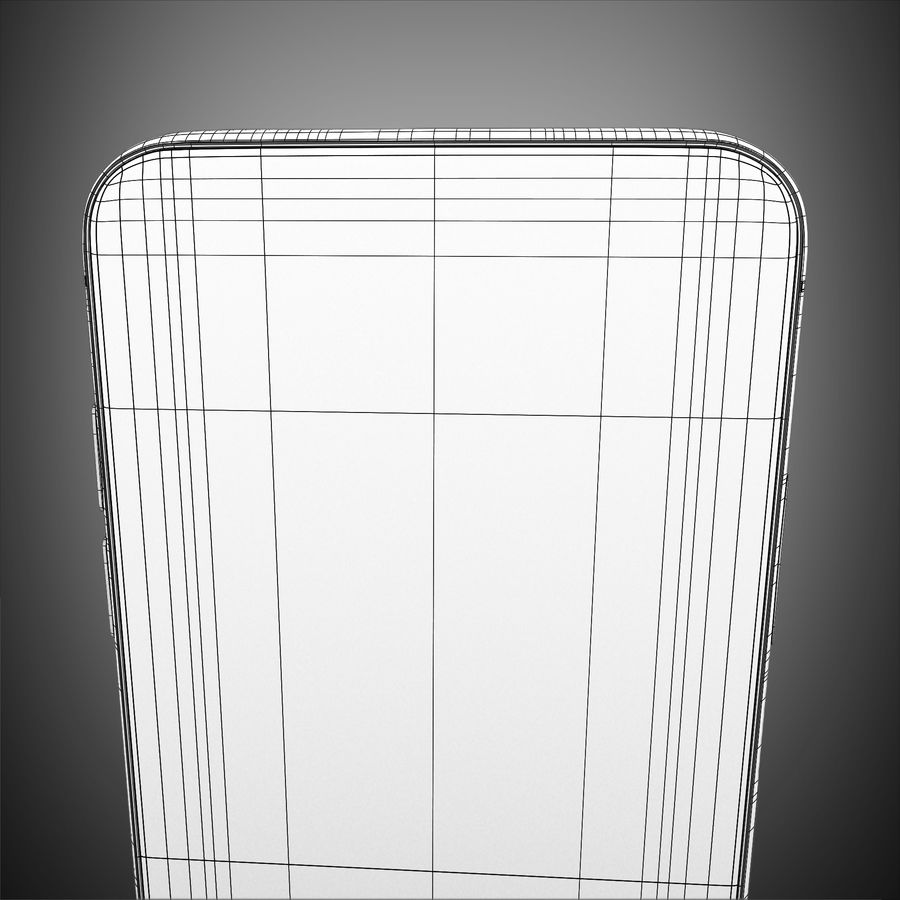 Iphone X royalty-free 3d model - Preview no. 14