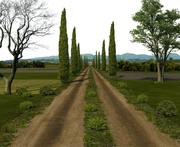 Dirt Road 3d model