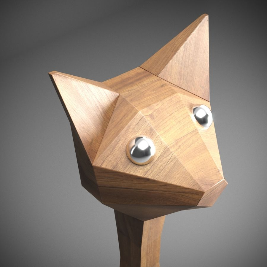 GATO royalty-free 3d model - Preview no. 4