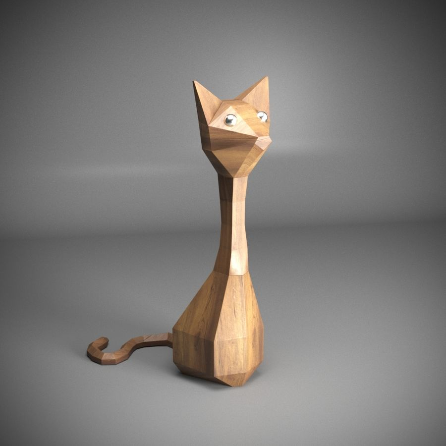GATO royalty-free 3d model - Preview no. 1