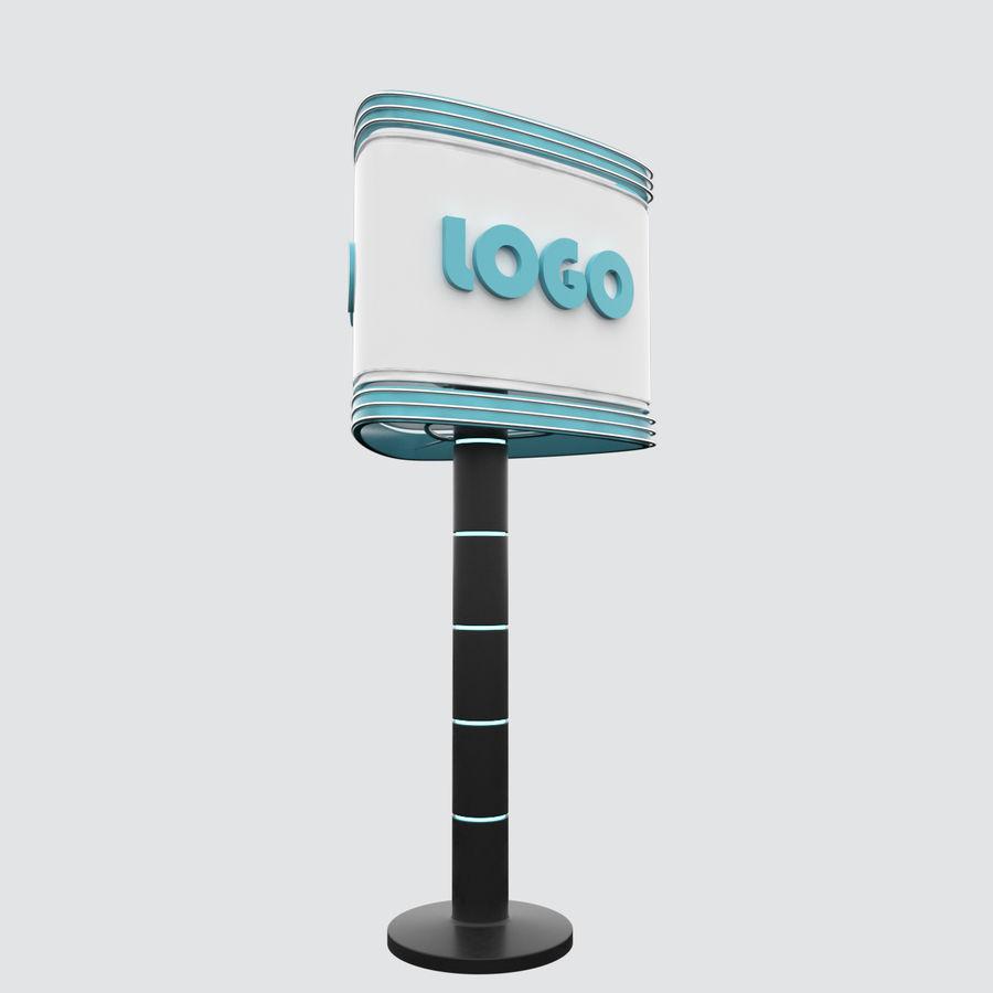 Totem Sing royalty-free modelo 3d - Preview no. 1