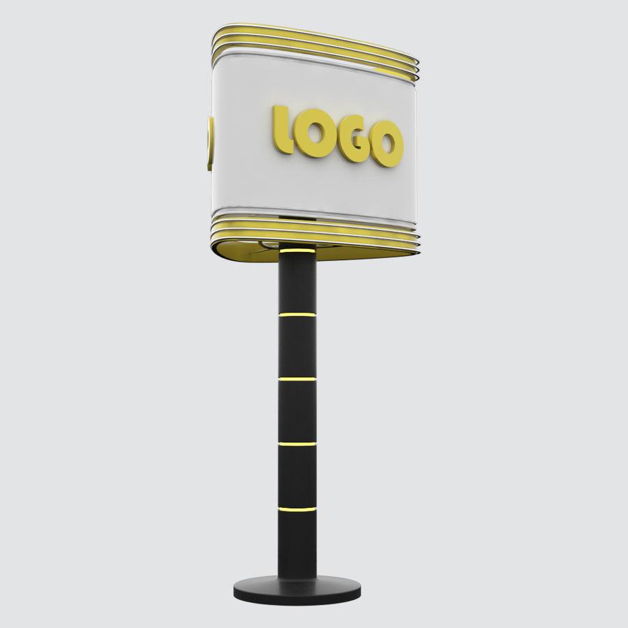 Totem Sing royalty-free modelo 3d - Preview no. 5