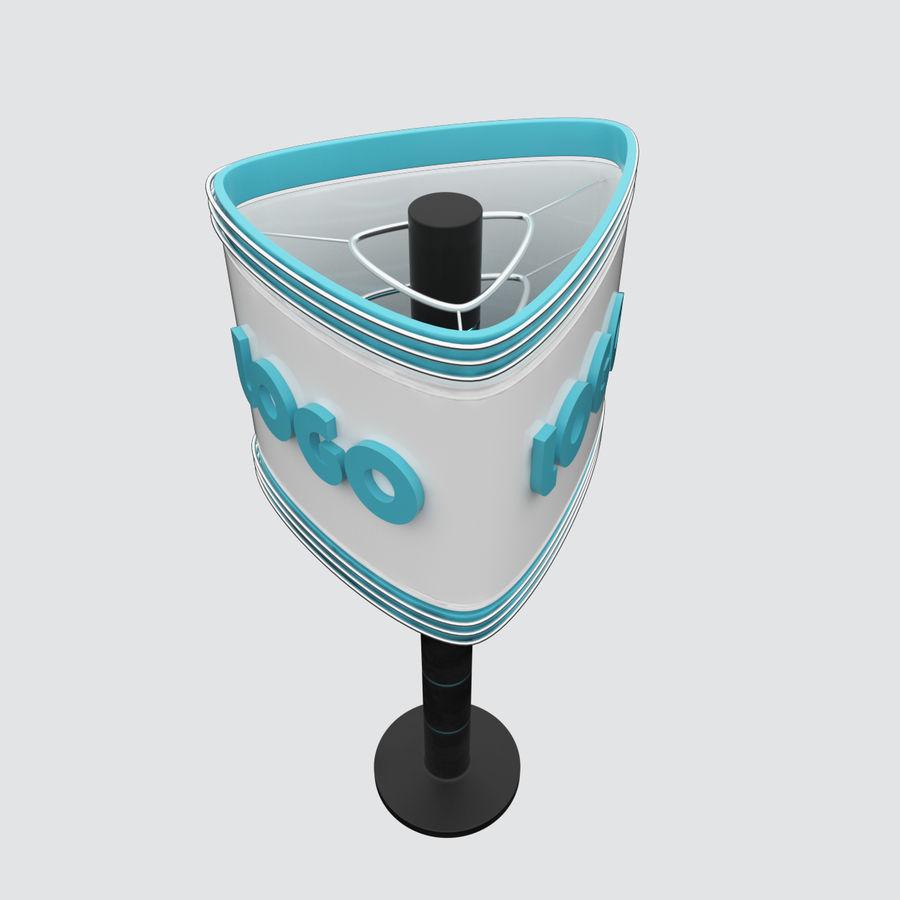 Totem Sing royalty-free modelo 3d - Preview no. 2