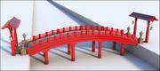 Ponte asiatico 3d model