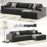 Giulio Marelli Epika Sofa 3d model