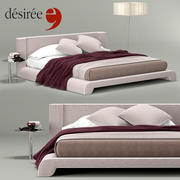 Desiree Isabell Bed 3d model
