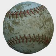 Old Baseball 3d model
