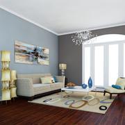 Классическая гостиная 7 высокой четкости 3d model