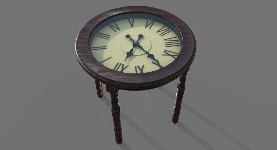 Orologio da tavolo royalty-free 3d model - Preview no. 7