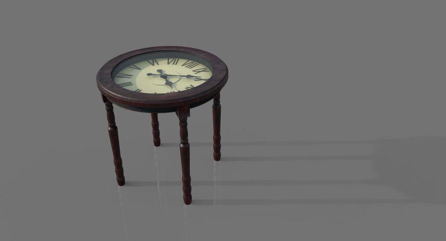 Orologio da tavolo royalty-free 3d model - Preview no. 5