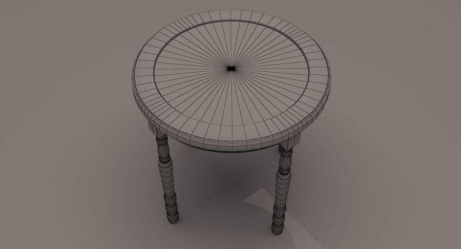 Orologio da tavolo royalty-free 3d model - Preview no. 9