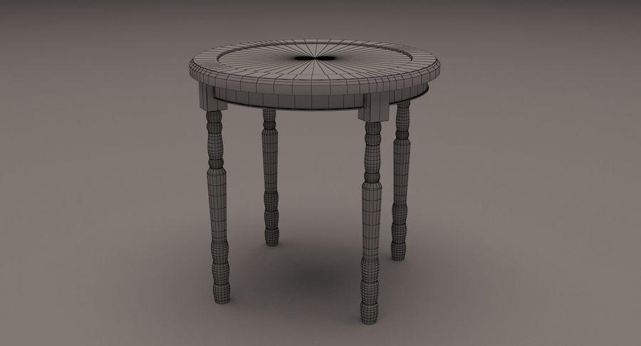 Orologio da tavolo royalty-free 3d model - Preview no. 8