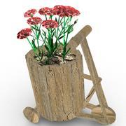 Creative flower pot 3d model
