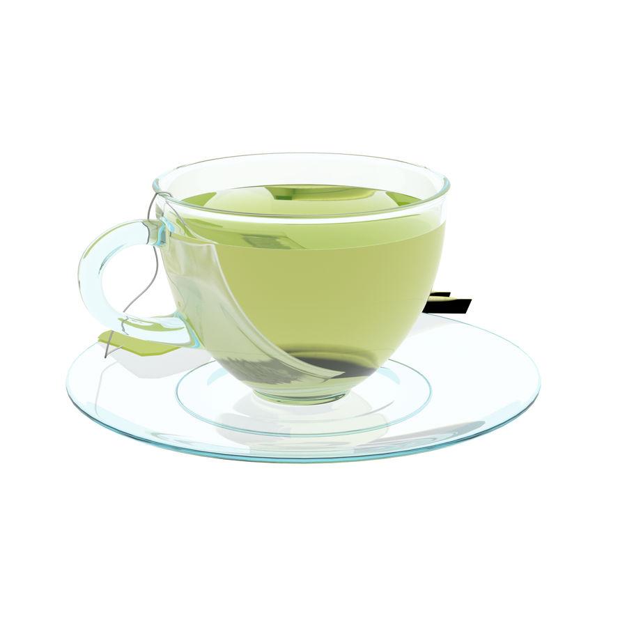 Tea Cup royalty-free 3d model - Preview no. 4
