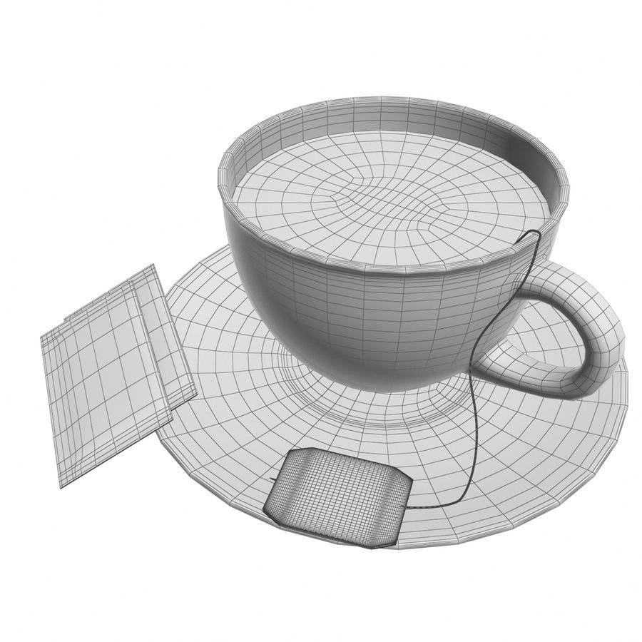 Tea Cup royalty-free 3d model - Preview no. 11
