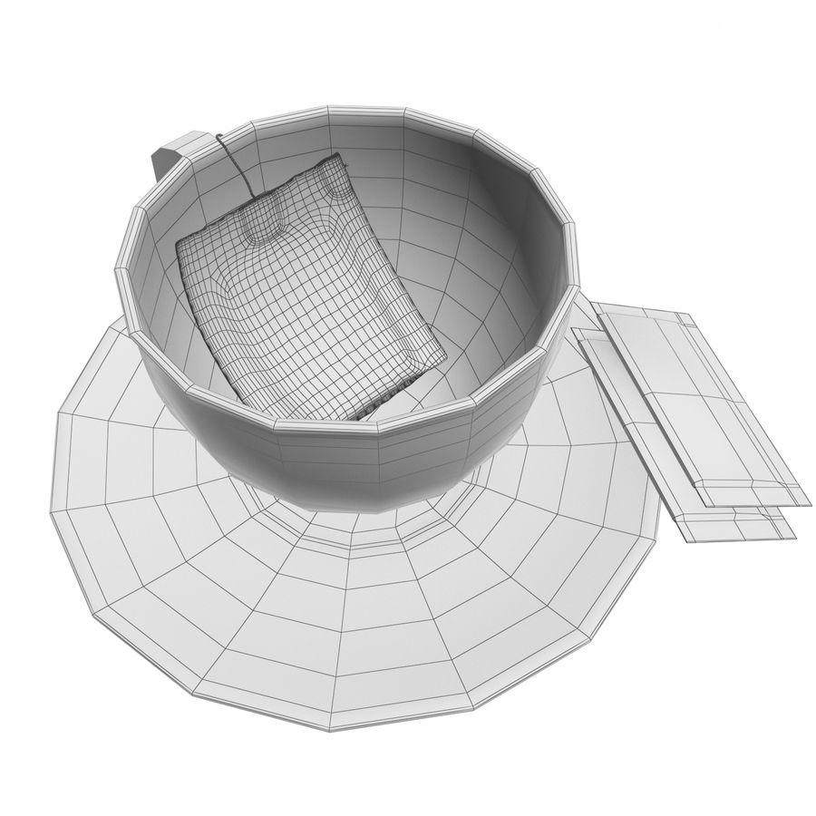 Tea Cup royalty-free 3d model - Preview no. 13