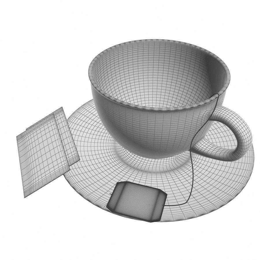 Tea Cup royalty-free 3d model - Preview no. 9