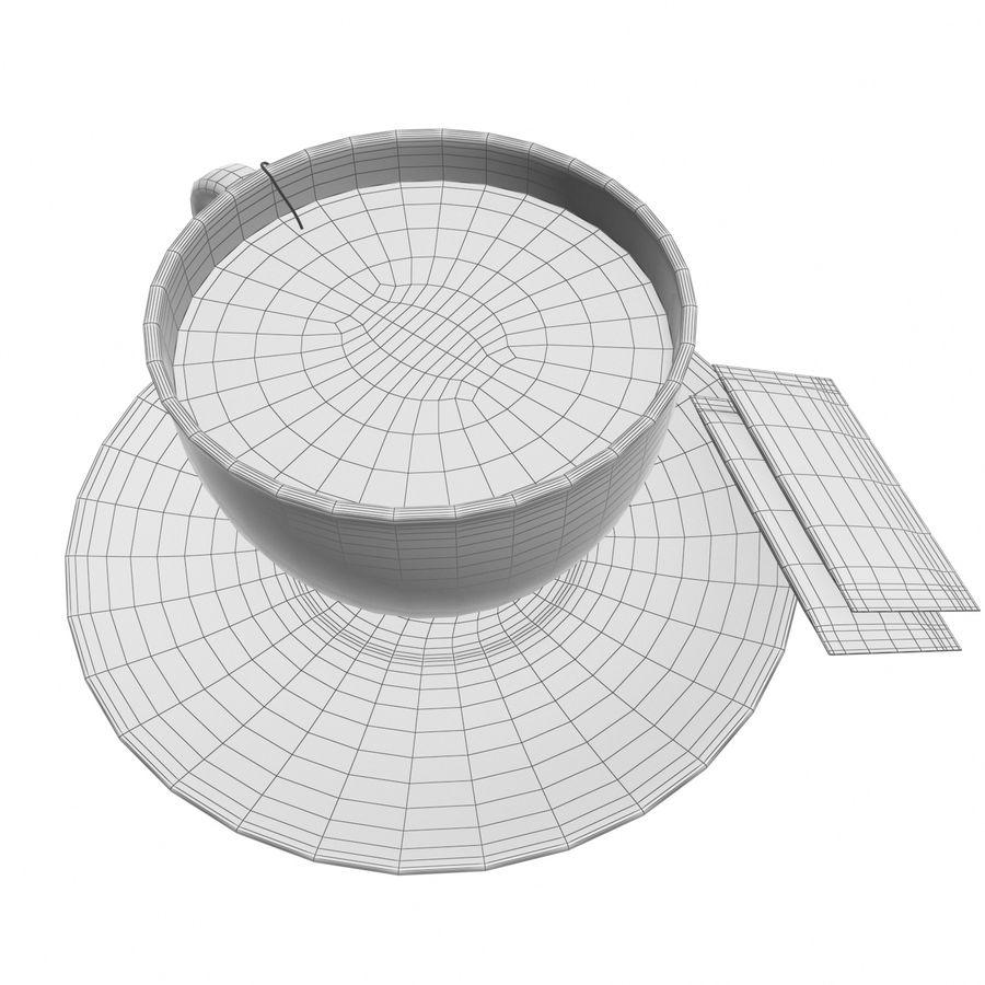 Tea Cup royalty-free 3d model - Preview no. 17