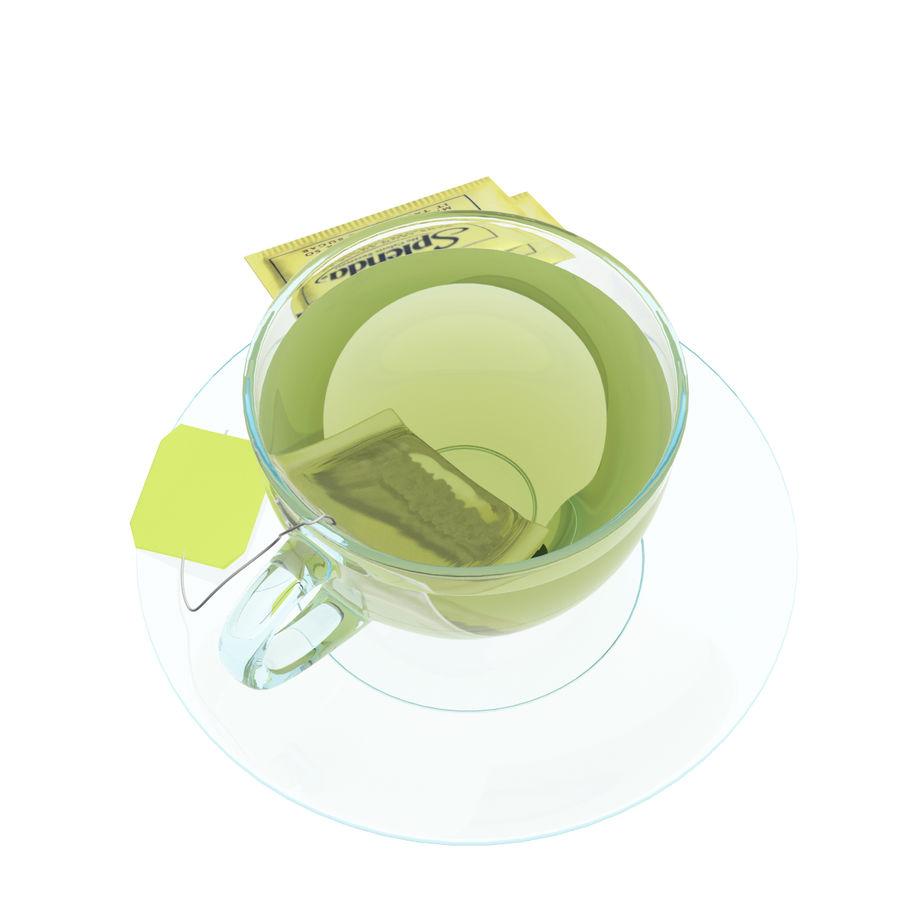Tea Cup royalty-free 3d model - Preview no. 2