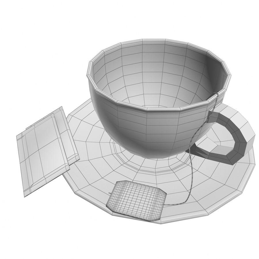 Tea Cup royalty-free 3d model - Preview no. 7