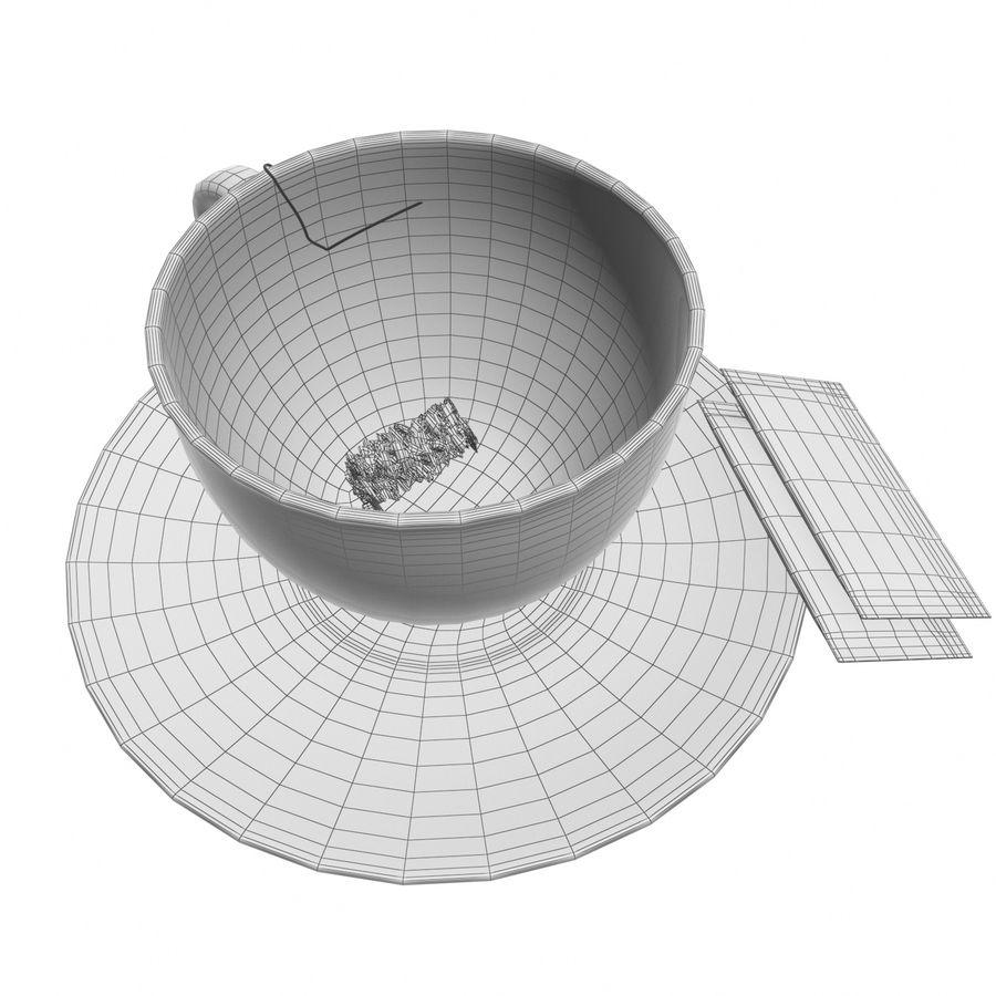Tea Cup royalty-free 3d model - Preview no. 15