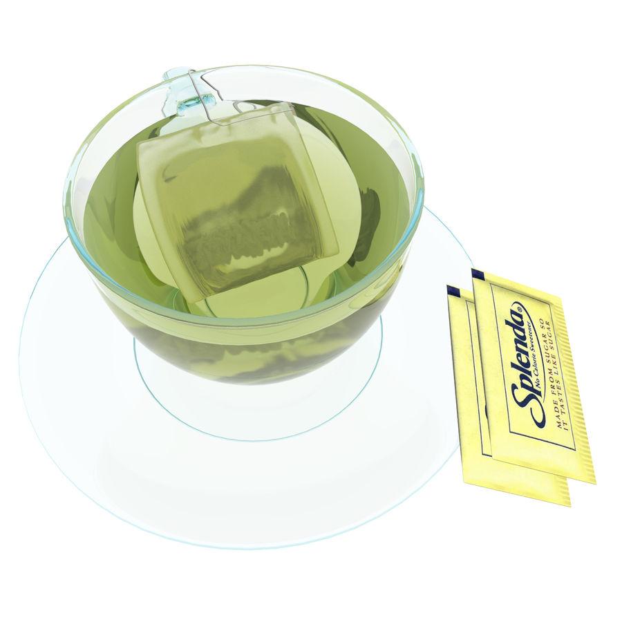 Tea Cup royalty-free 3d model - Preview no. 6