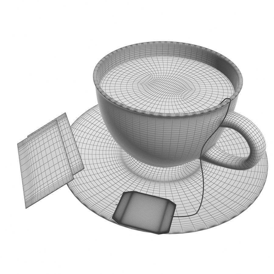 Tea Cup royalty-free 3d model - Preview no. 12