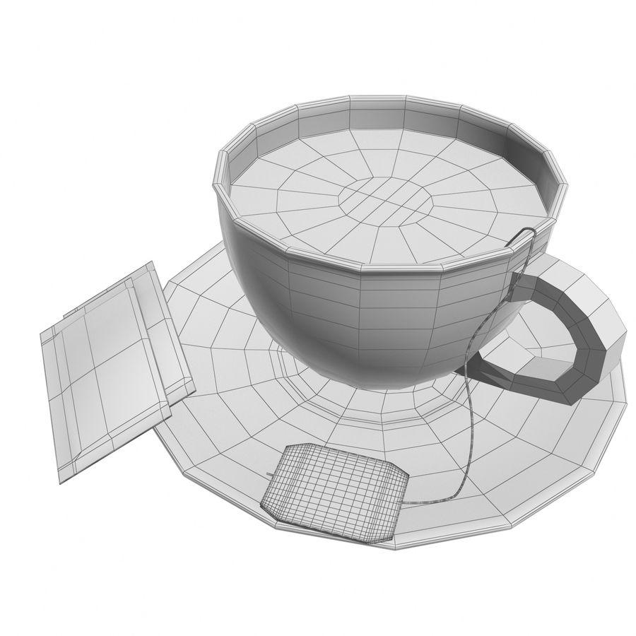 Tea Cup royalty-free 3d model - Preview no. 10