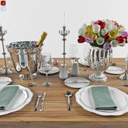 Set Dinner Table_1 3d model
