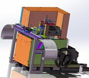Piegatrice CAM, 3d model