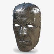 金属面具V2 3d model